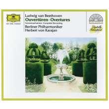 Ludwig van Beethoven (1770-1827): Ouvertüren (Ges.-Aufn.), 2 CDs