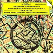 Philip Glass (geb. 1937): Violinkonzert, CD