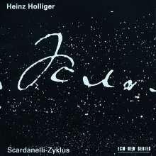 Heinz Holliger (geb. 1939): Scardanelli-Zyklus für Flöte, Orch. & Chor, 2 CDs