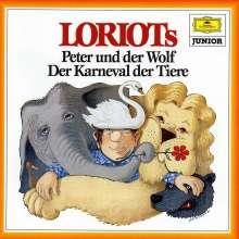 Loriot spricht Saint-Saens & Prokofieff, CD