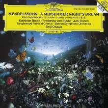 Felix Mendelssohn Bartholdy (1809-1847): Ein Sommernachtstraum, CD