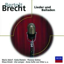 Brecht-Lieder und Balladen, CD