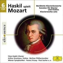 Clara Haskil spielt Mozart, 6 CDs