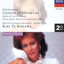 Joseph Canteloube (1879-1957): Lieder der Auvergne, 2 CDs