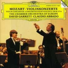 Wolfgang Amadeus Mozart (1756-1791): Violinkonzerte Nr.4 & 7, CD