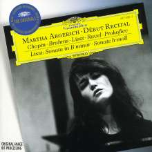 Martha Argerich - Debut Recital, CD