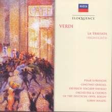 Giuseppe Verdi (1813-1901): La Traviata (Ausz.), CD