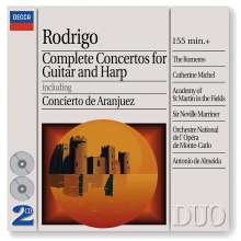 Joaquin Rodrigo (1901-1999): 4 Gitarrenkonzerte, 2 CDs