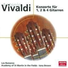 Antonio Vivaldi (1678-1741): Konzerte für 1,2,4 Gitarren, CD