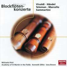 Michala Petri spielt Blockflötenkonzerte, CD