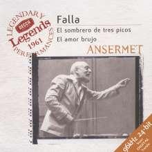 Manuel de Falla (1876-1946): Der Dreispitz (Ges.-Aufn.), CD