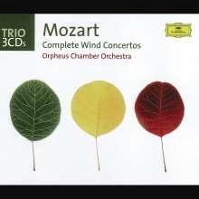 Wolfgang Amadeus Mozart (1756-1791): Bläserkonzerte (Ges.-Aufn.), 3 CDs