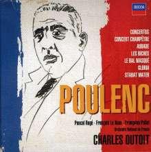 Francis Poulenc (1899-1963): Orchesterwerke & Konzerte, 5 CDs