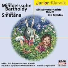 """Gerd Albrecht erklärt """"Ein Sommernachtstraum"""" & """"Die Moldau"""", CD"""