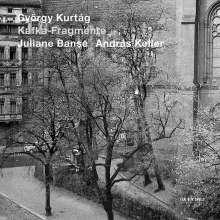 György Kurtag (geb. 1926): Kafka-Fragmente op.24, CD