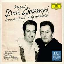 Wolfgang Amadeus Mozart (1756-1791): Don Giovanni (in dt.Spr.), 3 CDs