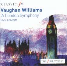 "Ralph Vaughan Williams (1872-1958): Symphonie Nr.2 ""London"", CD"