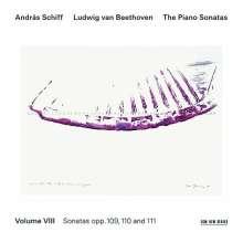 Ludwig van Beethoven (1770-1827): Klaviersonaten Vol.8 (Andras Schiff), CD