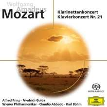 Wolfgang Amadeus Mozart (1756-1791): Klarinettenkonzert KV 622, Super Audio CD
