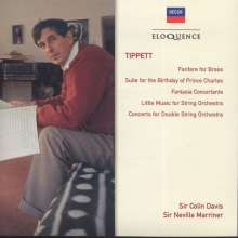 Michael Tippett (1905-1998): Concerto for Double String Orchestra, CD