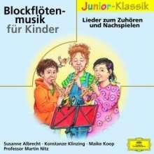 Blockflötenmusik für Kinder zum Zuhören und Nachspielen, CD