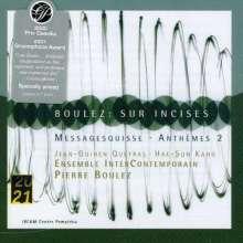 Pierre Boulez (1925-2016): Messagesquisse für Cello solo & 6 Celli, CD