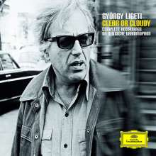 György Ligeti (1923-2006): Clear or Cloudy - Complete Records on Deutsche Grammophon, 4 CDs