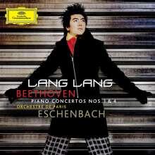 Ludwig van Beethoven (1770-1827): Klavierkonzerte Nr.1 & 4 (mit DVD), 1 CD und 1 DVD