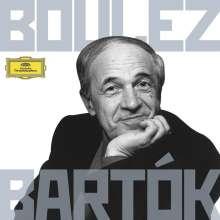 Bela Bartok (1881-1945): Pierre Boulez dirigiert Bartok, 8 CDs