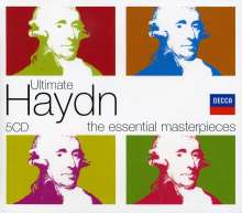 Joseph Haydn (1732-1809): Ultimate Haydn - The Essential Masterpieces, 5 CDs