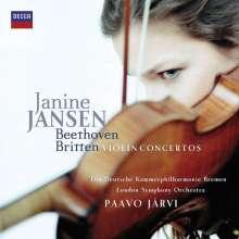 Janine Jansen - Beethoven & Britten, CD