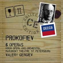 Serge Prokofieff (1891-1953): 6 Opern, 14 CDs