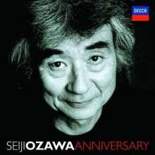 Seiji Ozawa - Anniversary (Limited Edition), 11 CDs