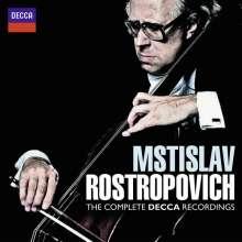 Mstislav Rostropovich - His Complete Decca Recordings, 5 CDs