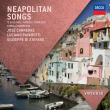 Carreras,Domingo,Pavarotti,di Stefano - Neapolitan Songs, CD