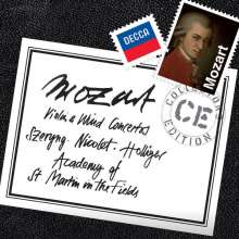 Wolfgang Amadeus Mozart (1756-1791): Bläser- & Violinkonzerte, 9 CDs