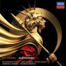 Georg Friedrich Händel (1685-1759): Alessandro, 3 CDs