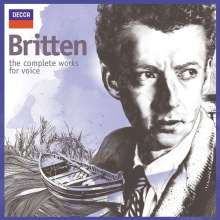 Benjamin Britten (1913-1976): Benjamin Britten  - The Complete Works for Voice, 16 CDs