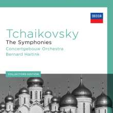 Peter Iljitsch Tschaikowsky (1840-1893): Symphonien Nr.1-6, 6 CDs