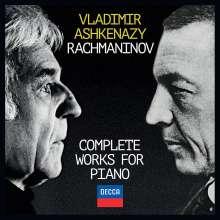 Sergej Rachmaninoff (1873-1943): Sämtliche Werke für Klavier, 11 CDs