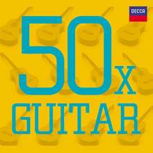 50 X Guitar, 3 CDs