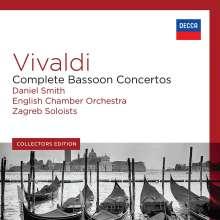 Antonio Vivaldi (1678-1741): Die 37 Fagottkonzerte, 5 CDs