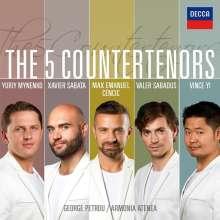 The 5 Countertenors, CD