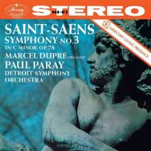 """Camille Saint-Saens (1835-1921): Symphonie Nr.3 """"Orgelsymphonie"""", CD"""