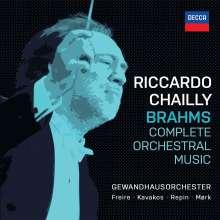 Johannes Brahms (1833-1897): Complete Orchestral Music, 7 CDs