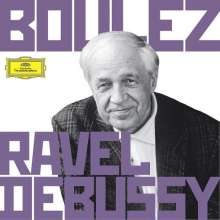 Pierre Boulez dirigert Ravel & Debussy, 6 CDs