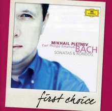 Carl Philipp Emanuel Bach (1714-1788): Klaviersonaten, CD