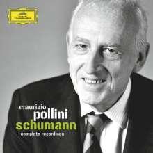 Robert Schumann (1810-1856): Maurizio Pollini - Complete Schumann Recordings (DGG), 4 CDs