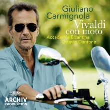 Giuliano Carmignola - Vivaldi con moto, CD
