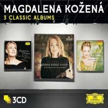 Magdalena Kozena - 3 Classic Albums, 3 CDs